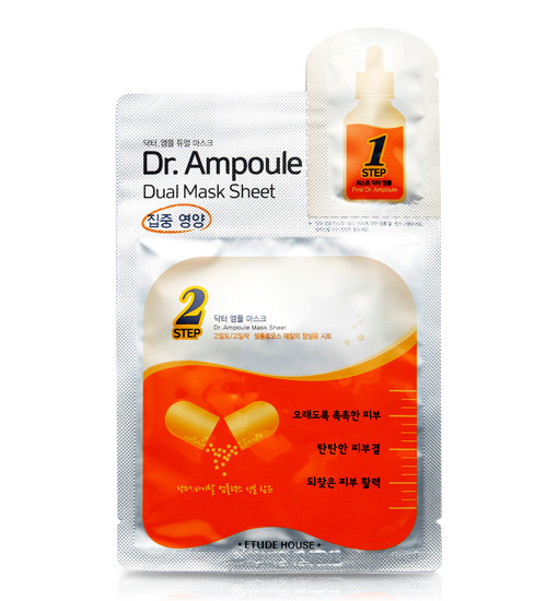 DR.AMPOULE DUAL MASK SHEET[VITAL CARE]