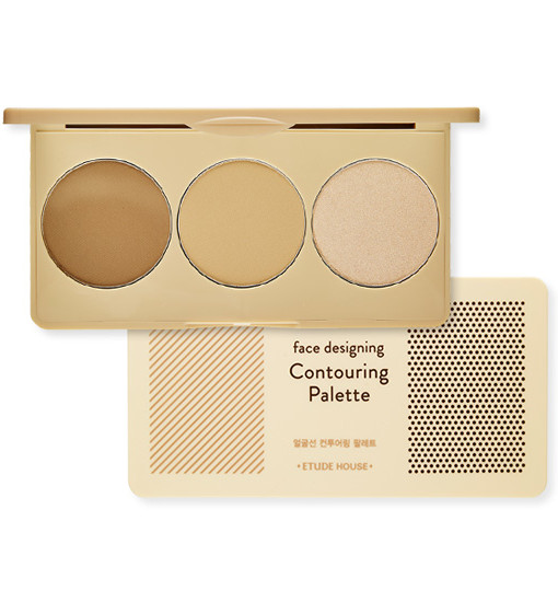 Face Designing Contouring Palette #1 Gold Brown