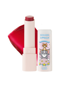 (Tom&Jerry)-Soonjung-Lip-Balm-Natural-red