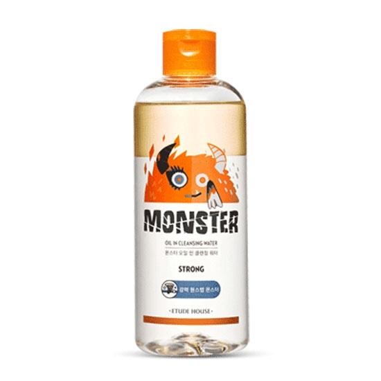 monster oil, best Korean cleansing oil for dry skin
