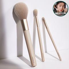 [SET] Contour Powder Brush 3pcs Set