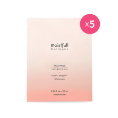 [SET] Moistfull Collagen Sheet Mask 5pcs