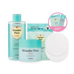 [SET] Wonder Pore Freshner 250ml + Cream + Cleansing Pad