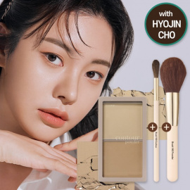 [SET] Contour Powder + Powder Brush + Contour Brush Set