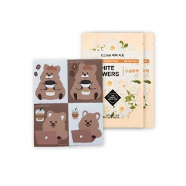 [LIMITED] Flower-Quokka Removable Sticker + 0.2 Therapy Air Mask 2ea
