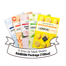 [SET] 0.2 Therapy Air Mask RANDOM package (100pcs)