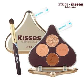 Play Color Eyes HERSHEY'S KISSES Brush Kit #2 ALMOND CHOCOLATE