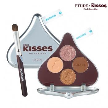 Play Color Eyes HERSHEY'S KISSES Brush Kit #1 MILK CHOCOLATE