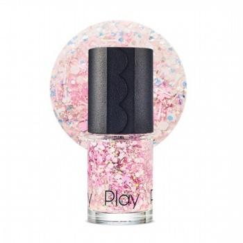 New P.Nail #107 Flower Rain