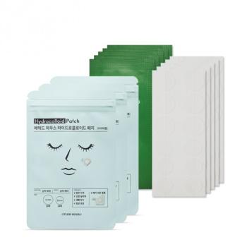 [SET] Hydrocolloid Trouble Patch 3pcs + AC Clean Up Spot Patch 5pcs
