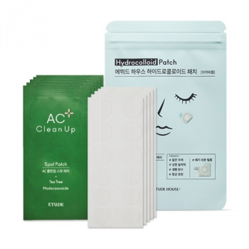 [SET] AC Clean Up Patch 5pcs + Hydrocolloid Patch