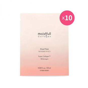 [SET] Moistfull Collagen Sheet Mask 10pcs