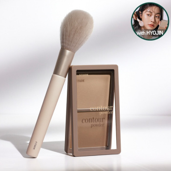[SET] Contour Powder + Face Brush