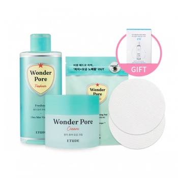 [SET] Wonder Pore Freshner 250ml + Cream + Cleansing Pad