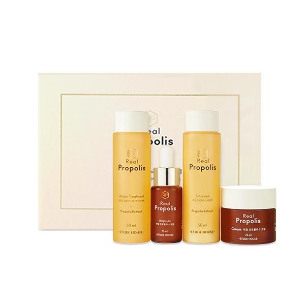 Real Propolis Skin Care Mini Kit [4 Kinds]