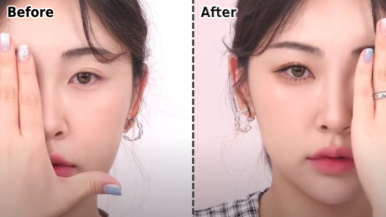 Take A Look At The Before & After! Highly Recommended Fixing Mascara