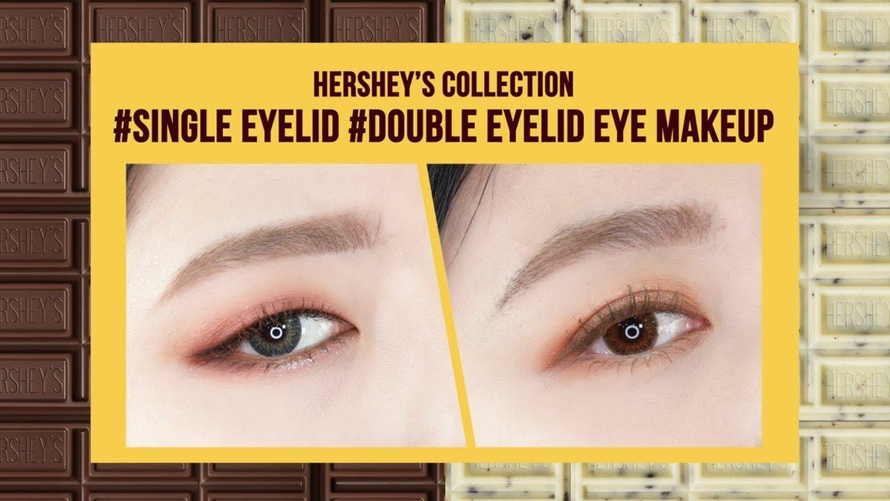 Hershey's Collection Single/Double eyelid Eye makeup