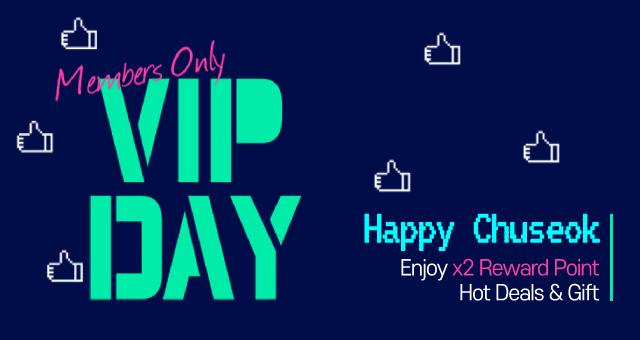 Happy Chuseok VIP Day