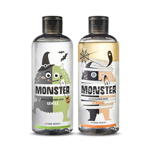ETUDE HOUSE Monster Cleansing Water Duo Special Set[Halloween Edition] 1