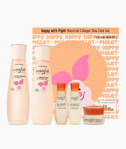 Thumb_ Happy with Piglet Moistfull Collagen Set(TW)